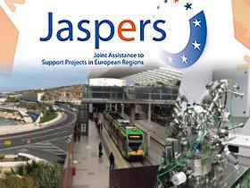 """Joint Assistance to Support Projects in European Regions"" (JASPERS) logo"