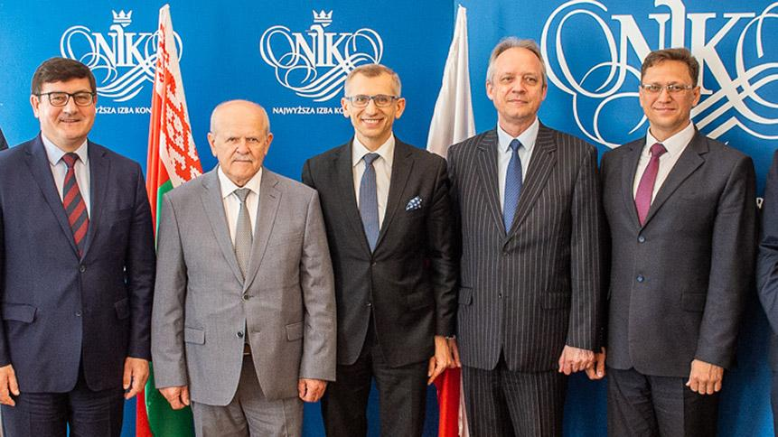 Chairman of the Belarusian SAI visited NIK