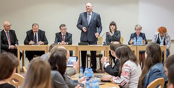 Uczestnicy warsztatów w Goławicach