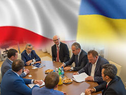Delegation of the Ukrainian parliament at NIK