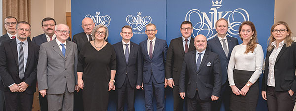 Lithuania delegation with NIK's top management