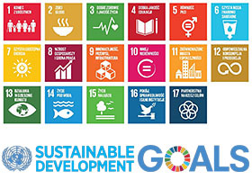 Chart of 17 Sustainable Development Goals