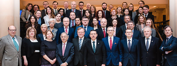 Participants of the EUROSAI Council meeting in Gdańsk