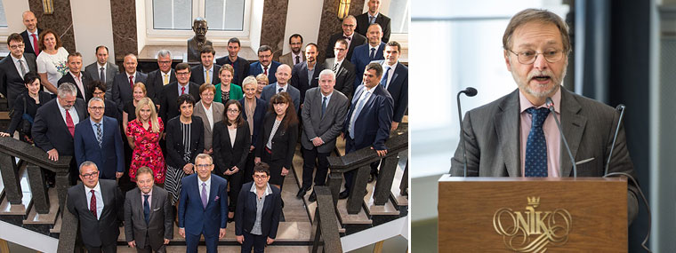 Spotkanie Grupy Roboczej ds. VAT Komitetu Kontaktowego - zdjęcie pamiątkowe i wystąpienie
