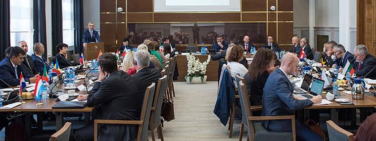 Spotkanie Grupy Roboczej ds. VAT Komitetu Kontaktowego - widok na salę