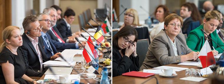 Spotkanie Grupy Roboczej ds. VAT Komitetu Kontaktowego - uczestnicy