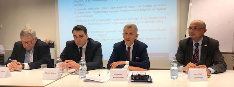 Prezes NIK Krzysztof Kwiatkowski zabiera głos w debacie