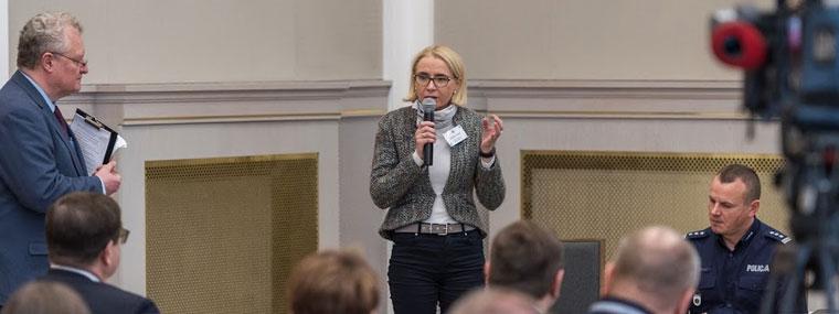 Dr inż. Barbara Toczko z Głównego Inspektoratu Ochrony Środowiska