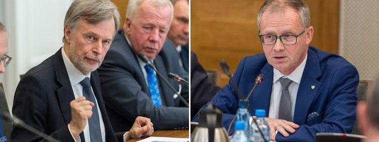 Były minister zdrowia Marek Balicki, Romana Kolka wicemarszałek Województwa Opolskiego