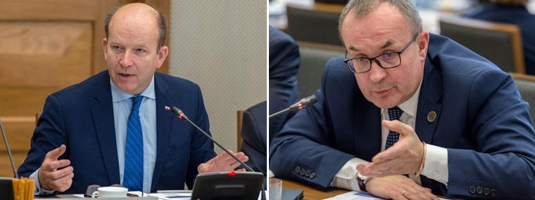 Były minister zdrowia Konstanty Radziwiłł, dr Przemysław Daroszewski
