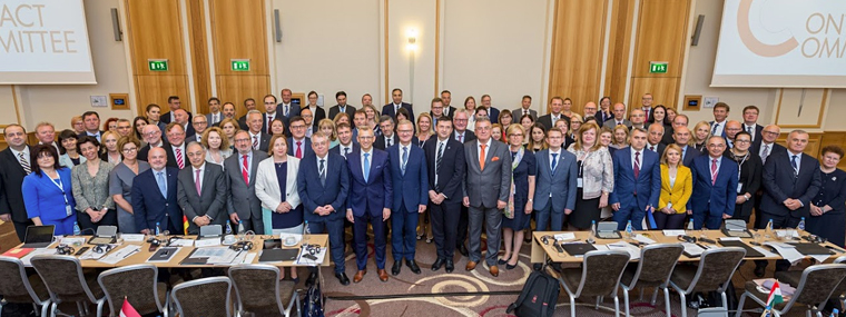 Participants of the Contact Committee meeting in Warsaw