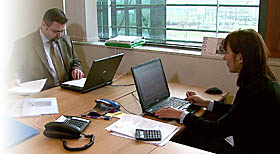NIK auditors at work